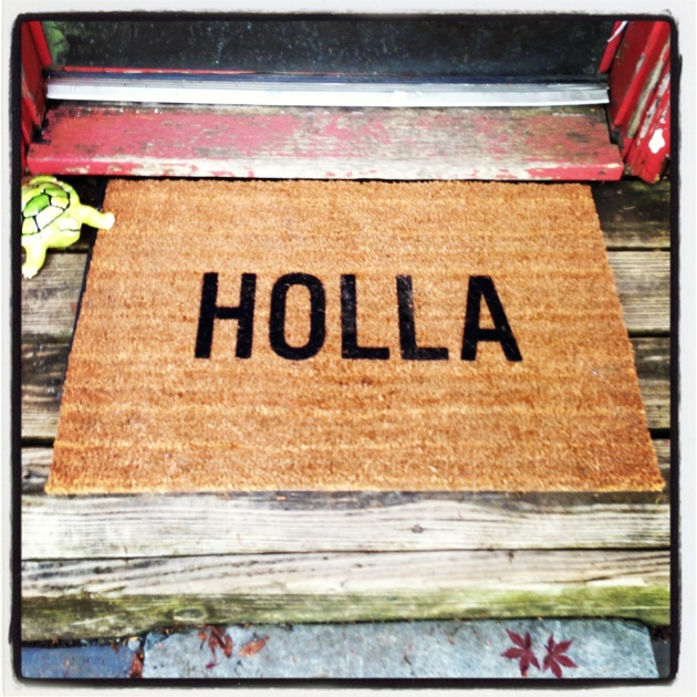 My New Doormat